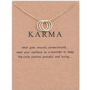 "PATCO ""KARMA RINGS"" NECKLACE"