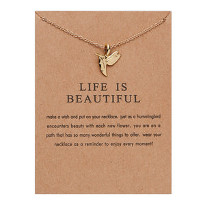 "PATCO ""LIFE IS BEAUTIFUL"" NECKLACE"