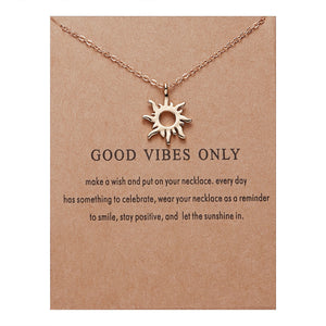 "PATCO ""GOOD VIBES ONLY"" NECKLACE"