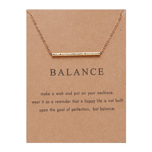 "PATCO ""BALANCE"" NECKLACE (FOR EVERY ORDER, $1 IS DONATED TO stopaapihate.org TO COMBAT ASIAN HATE CRIMES)"