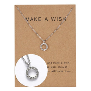 "PATCO ""MAKE A WISH"" NECKLACE"
