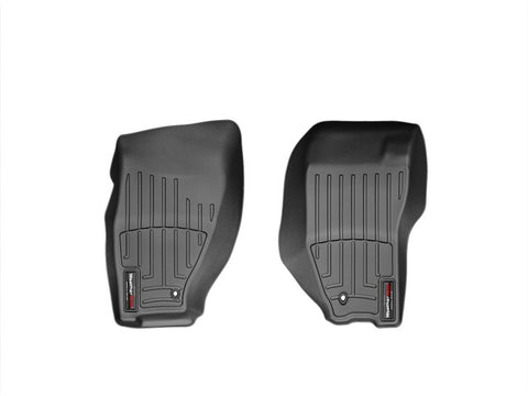 Alfombra WeatherTech para Jeep Liberty 2008-12  Kit con FloorLiner 1ra y 2da fila en color negro