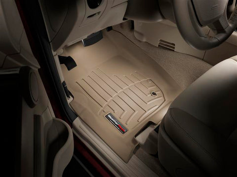 Alfombra WeatherTech para Ford Explorer/Mercury/ Mountaineer 2006-2010  Kit con Bandeja FloorLiner 1ra, 2da y 3era  fila en color beige