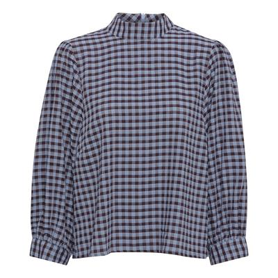 Lady blouse / Blue check
