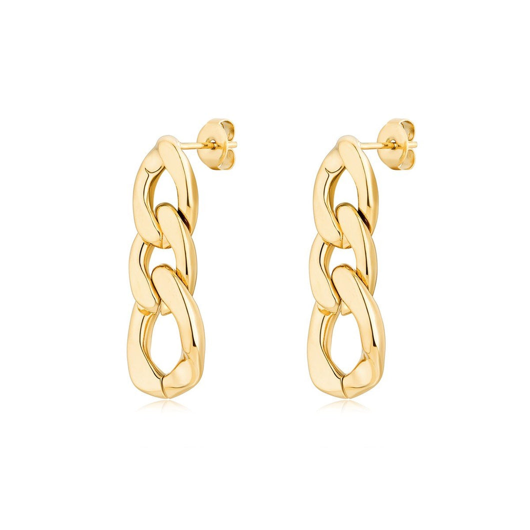 JAZIA CHAIN LINK EARRINGS