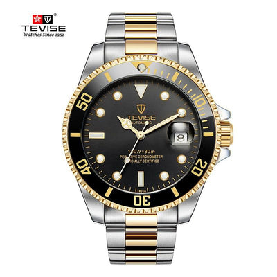2020 Tevise Top Brand Men Mechanical Watch Automatic Date Fashion Wristwatches Sport Gold Clock Relogio Masculino Drop Shipping