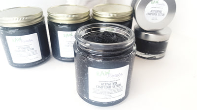 Activated Charcoal Scrub - Unscented