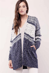 Joanna Open-Front Knit Cardigan