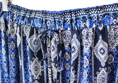 Ashley Mixed Print Maxi Skirt