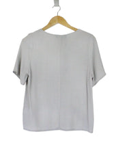 Claire Light Gray Top