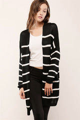Amber Striped Cardigan