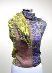 Yellow Brush Stroke Scarf