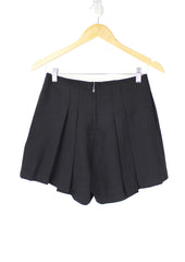 Hayley Black Pleated Shorts