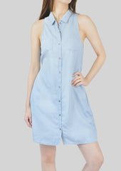 Renee Denim Shirt Dress