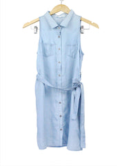 Renee Light Denim Shirt Dress