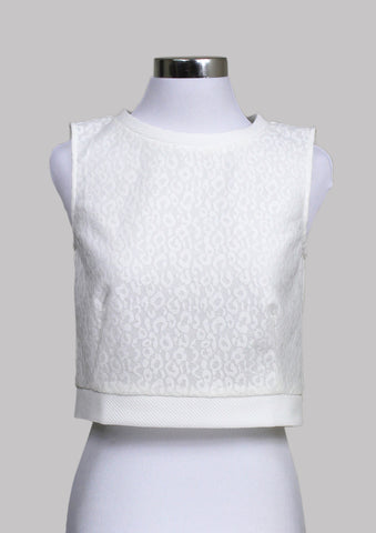 Leslie Lace Crop Top