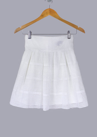 Stacy Wave-Patterned Skirt