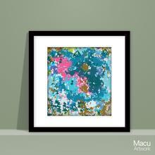 Load image into Gallery viewer, Serie Colorful camouflage 3/4  Printable Abstract Artwork