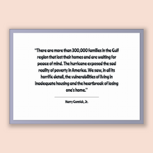 Load image into Gallery viewer, Harry Connick, Jr. Quote, Harry Connick, Jr. Poster, Harry Connick, Jr. Print, Printable Poster, There are more than 300,000 families in ...
