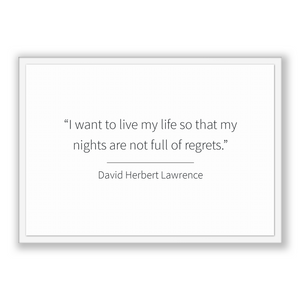 David Herbert Lawrence Quote, David Herbert Lawrence Poster, David Herbert Lawrence Print, Printable Poster, I want to live my life so th...