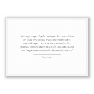 Dennis Prager Quote, Dennis Prager Poster, Dennis Prager Print, Printable Poster, Although images of perfection in people's personal live...