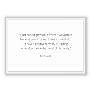 Scott Stapp Quote, Scott Stapp Poster, Scott Stapp Print, Printable Poster, I just hope it grows into where it was before because I want ...