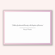 Load image into Gallery viewer, Harvey S. Firestone Quote, Harvey S. Firestone Poster, Harvey S. Firestone Print, Printable Poster, I believe fundamental honesty is the ...