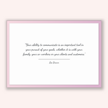 Load image into Gallery viewer, Les Brown Quote, Les Brown Poster, Les Brown Print, Printable Poster, Your ability to communicate is an important tool in your pursuit of...