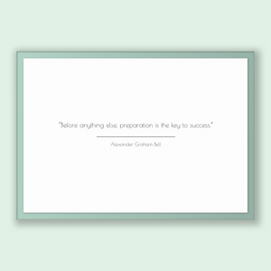 Alexander Graham Bell Quote, Alexander Graham Bell Poster, Alexander Graham Bell Print, Printable Poster, Before anything else, preparati...