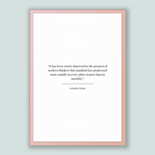 Load image into Gallery viewer, Lafcadio Hearn Quote, Lafcadio Hearn Poster, Lafcadio Hearn Print, Printable Poster, It has been wisely observed by the greatest of moder...