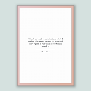 Lafcadio Hearn Quote, Lafcadio Hearn Poster, Lafcadio Hearn Print, Printable Poster, It has been wisely observed by the greatest of moder...