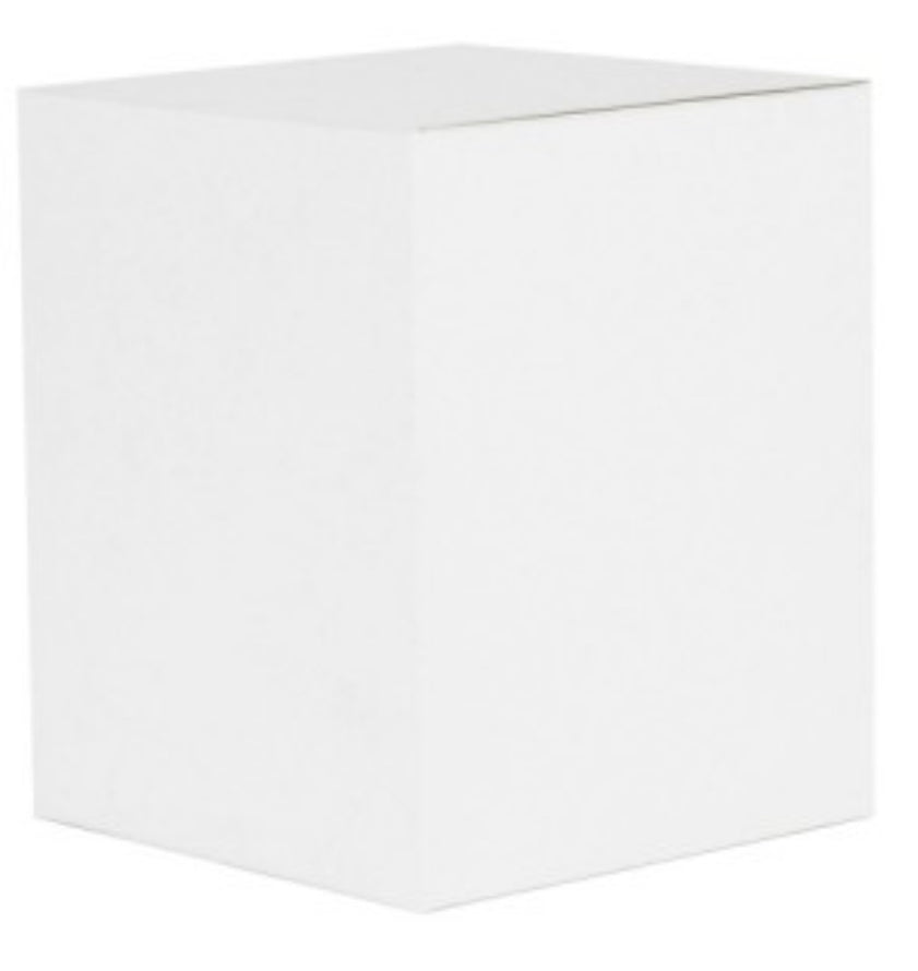 White Candle Gift Box