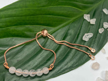 Load image into Gallery viewer, Rose Quartz Crystal Bracelet by Alyce Crystal