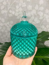 Load image into Gallery viewer, Orange and Ylang Ylang - Tiffany Blue Cupola Jar