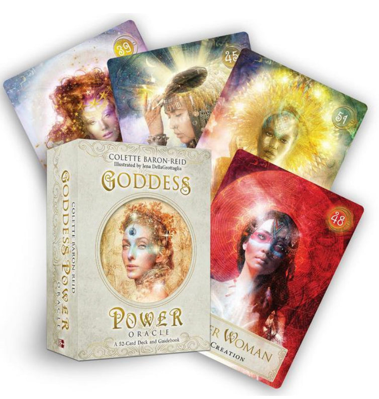 Goddess Power Oracle Cards - Colette Baron-Reid