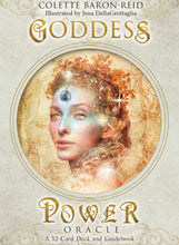 Load image into Gallery viewer, Goddess Power Oracle Cards - Colette Baron-Reid