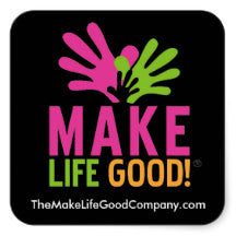 Make Life Good Logo Static Window Sticker