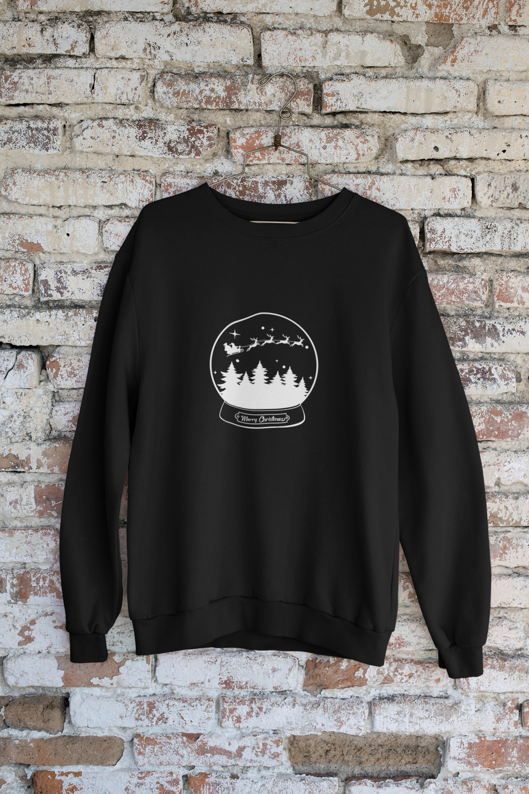 Christmas Snow Globe Long Sleeve