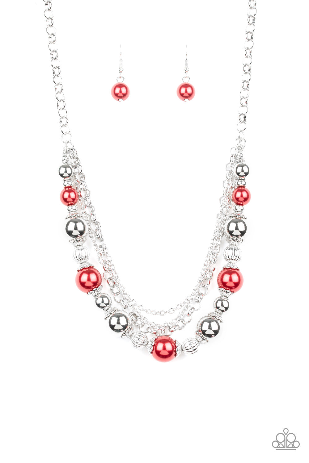 5th Avenue Romance - Red Paparazzi Jewelry