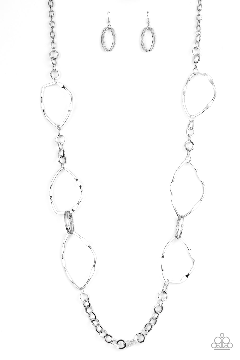 Abstract Artifact - Silver Paparazzi Jewelry