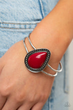 Load image into Gallery viewer, Over The Top Pop - Red Paparazzi Jewelry