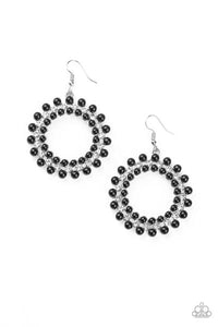 Pearly Poise-Black Paparazzi Jewelry