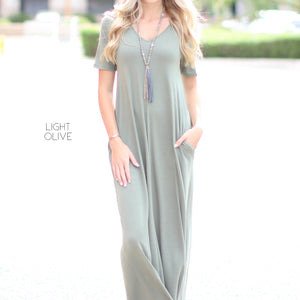 Layered Maxi Dress | S-XL