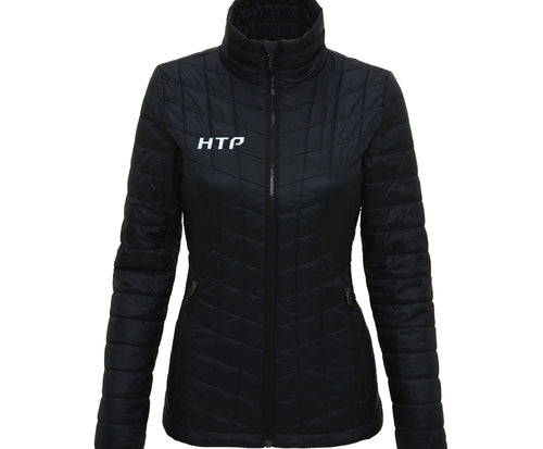 Ultralight Thermo Quilted Jacket Black - Women's - Hydra Tech Pro