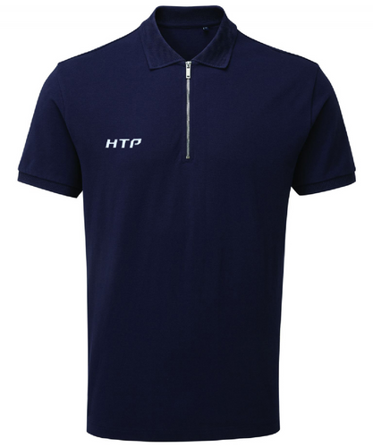 Men's Zip Polo Top - Hydra Tech Pro