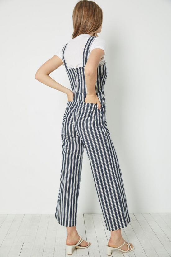 ROLLAS SAILOR JUMPSUIT SALTY STRIPE - Cloak and Dagger NYC