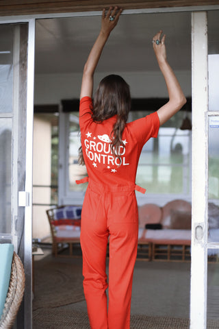 SUGARHIGH LOVEDSTONED GROUND CONTROL COVERALLS