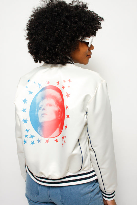 STONED IMMACULATE BOWIE BOMBER JACKET