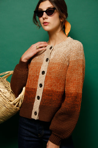 THE GREAT. DUSK CARDIGAN