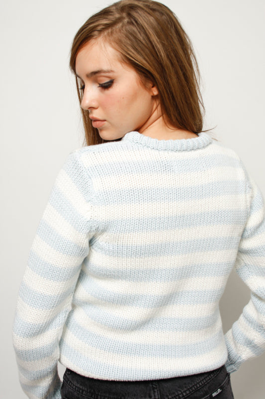 ROLLAS FRANCES STRIPED SWEATER